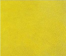 Daffodil Yellow Velour Suede Leather Half Skin